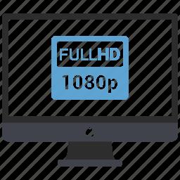 1080, computer, desktop, display, full hd, imac, monitor, sc icon
