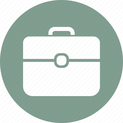 bag, office, papers, suitcase icon