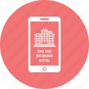 booking, call, communication, hotel, iphone