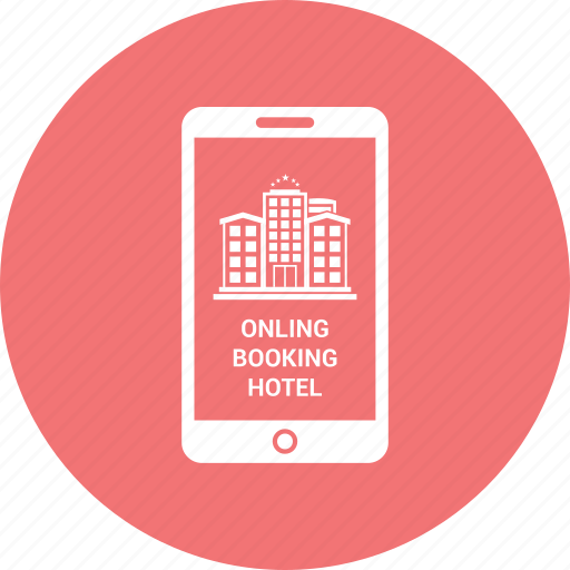 booking, call, communication, hotel, iphone icon