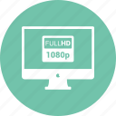 1080, computer, desktop, display, full hd, imac icon