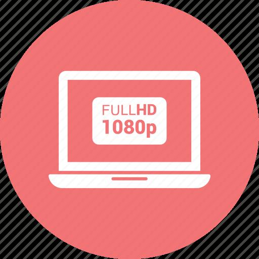1080p, apple, computer, device, full hd, laptop, macbook icon