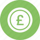 british, currency, money, pound, sign, sterling icon
