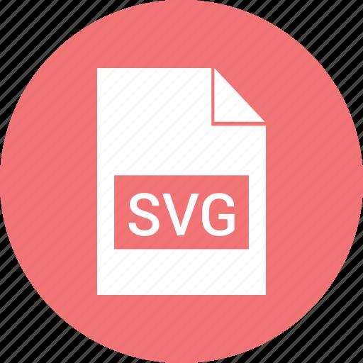 filetypes, svg icon