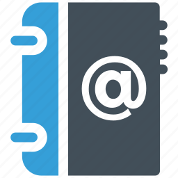 address, book, email, mail, mailbox icon icon