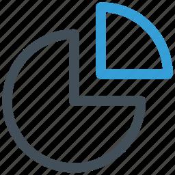 analytics, chart, finance, graph, marketing, pie, statistics icon icon