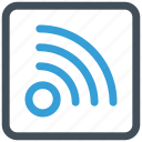 feed, rss, subscribe icon icon