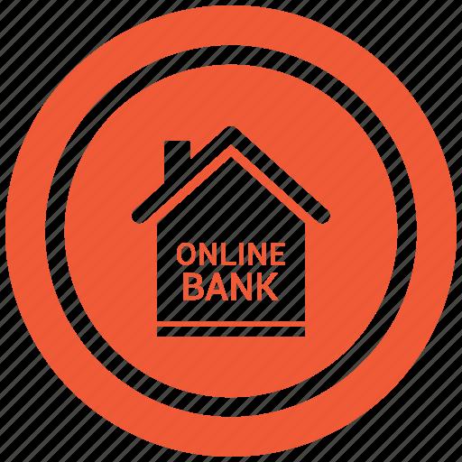 bank, banking, money, online icon