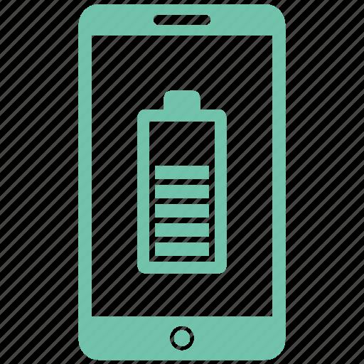 battery, full, haf, hal, mobile icon