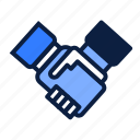 business, deal, negotiation icon