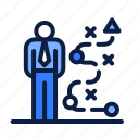 business, career, job, path icon