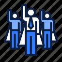 business, dream, team icon