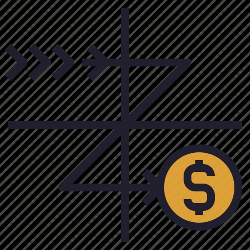 cash, finance, flow, statement, wealth icon
