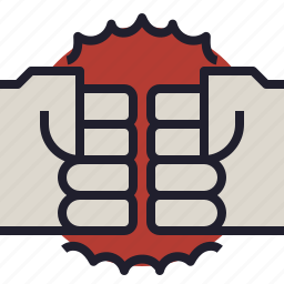 business, competition, enemy, fight, harassment, irritation, pressure icon