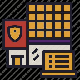 building, business, company, headquarter, main icon