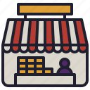 business, front, market, place, retail, store icon