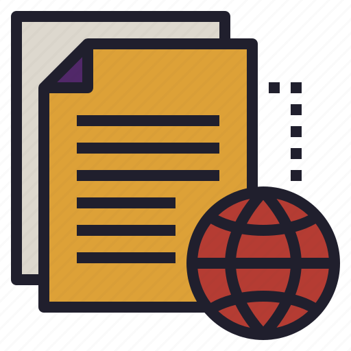cloud, document, file, online, transfer icon