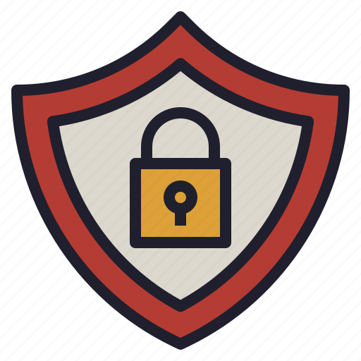 authority, lock, safe, security, shield icon