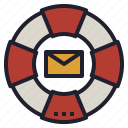 customer, email, help, mail, service, support icon