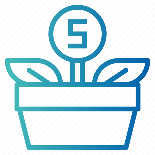 Bank, growth, investment, money icon - Download on Iconfinder