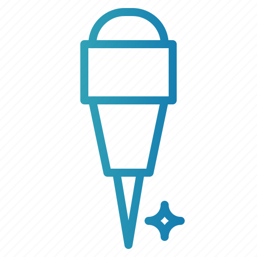 attachment, material, office, pin, push, school icon