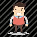 avatar, blink, businessman, employee, man, people, worker icon