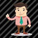 avatar, businessman, employee, man, people, thumb, worker