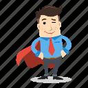 avatar, businessman, employee, hero, man, people, worker icon