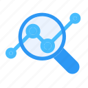 analysis, businessman, company, entrepreneur, report, research, statistic icon