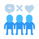 businessman, company, customer, entrepreneur, people, target audience, users icon