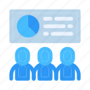 audience, businessman, company, conference, entrepreneur, meeting, presentation icon