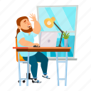 business, businessman, digital, man, office, people, worker icon