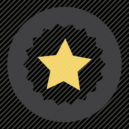 badge, bookmark, favorites, favourites, like, ribbon, star icon