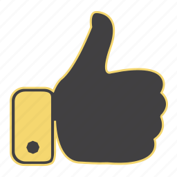 accept, gesture, hand, like, ok, thumbs up, yes icon