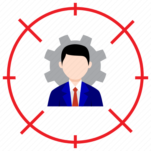 accounting, bussines, enginer, shoot, target icon