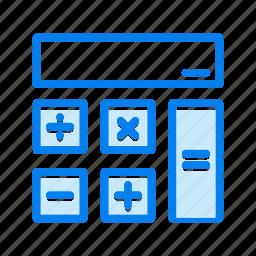 accounting, calculating, calculator, math icon