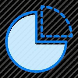 business, diagram, graph, report icon