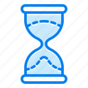 glass, hour, hourglass, timer, watch icon