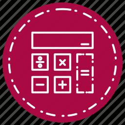 calculation, calculator, cash, dollar, finance icon