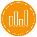 analysis, chart, statics, statistics icon