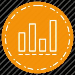 analysis, chart, statics, statistics icon