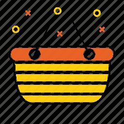 basket, buy, buying, groceries, shopping, shopping basket icon