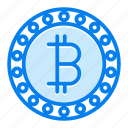 bitcoin, currency, digital, money icon