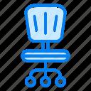 chair, desk, furniture, interior, office