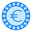 cash, coin, currency, euro, finance icon