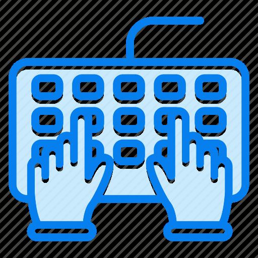 computer, input, keyboard icon