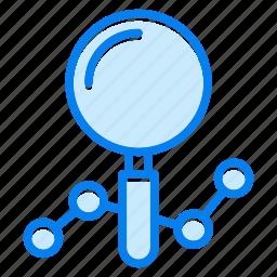 analysis, diagram, graph, report icon