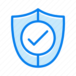 lock, protection, security, shield icon