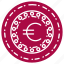 business, coin, currency, euro, finance, money icon