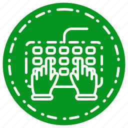 computer, key, keybord, keyword, letter icon